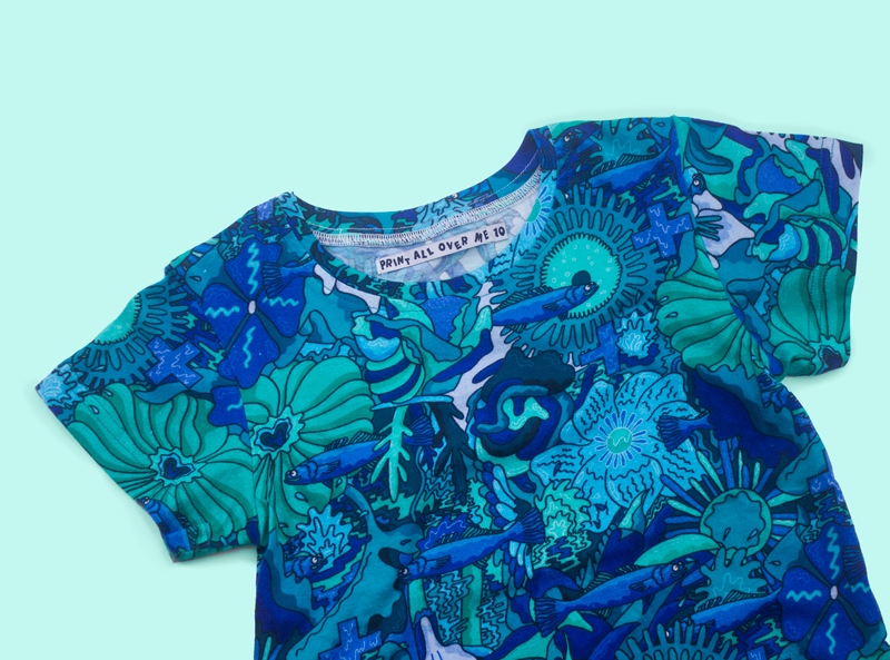 Mike Perry Bluefish Shirt